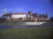 Widok znad Wisły na Wawel