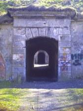 Fort - Główne wejście