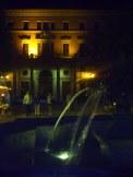 Fontanna na Placu Solnym we Wrocławiu (w tle Gmach Starej Giełdy)