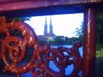 Widok na Ostrów Tumski z Mostu Piaskowego