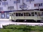 Stary wrocławski tramwaj, złapany w ostatniej chwili