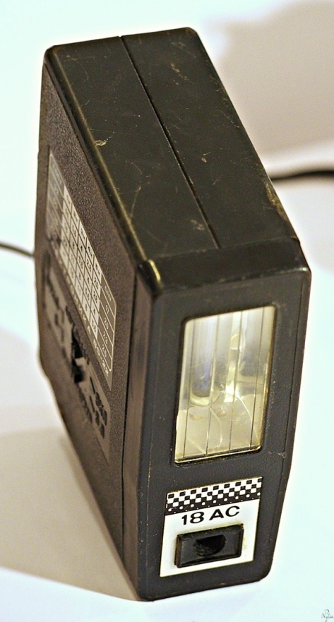 Stara lampa błyskowa