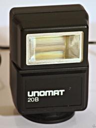 Lampa błyskowa Unomat 20B