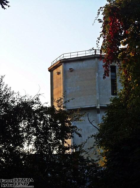 Opuszczona wieża ciśnień