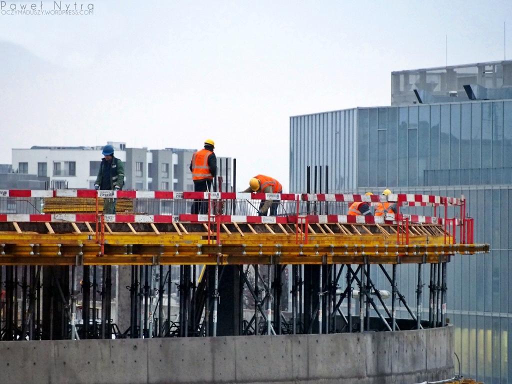 Budowa OVO Wrocław.
