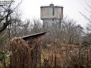 Stara wieża ciśnień na Kuźnikach