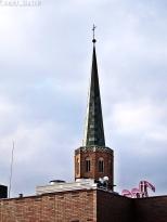 Kościół św. Wojciecha z dachu Galerii Dominikańskiej
