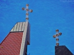 Kościół Chrystusa Króla - wieże