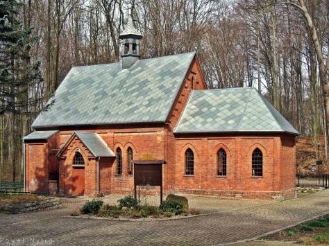 Kościół leśny Czternastu Świętych Wspomożycieli w Trzebnicy.
