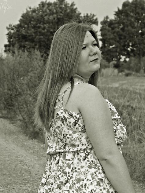 Ania i łąki sierpnia 1