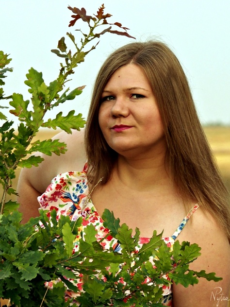 Ania i łąki sierpnia 2