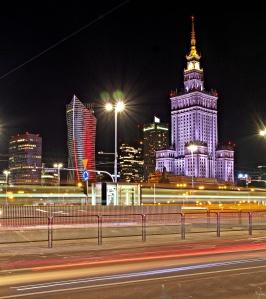 Centrum z ronda Dmowskiego