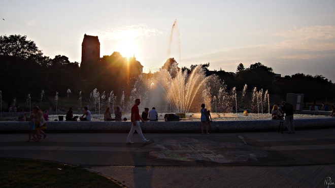 Multimedialny Park Fontann w Warszawie